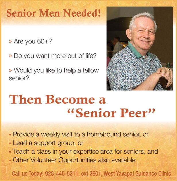 Senior men recruitment