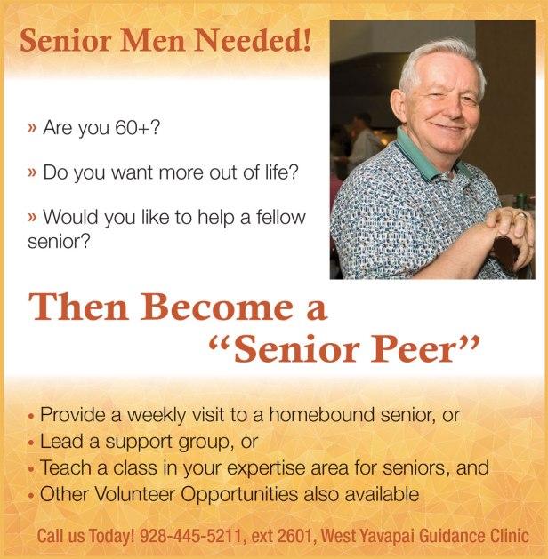Senior men recruitment
