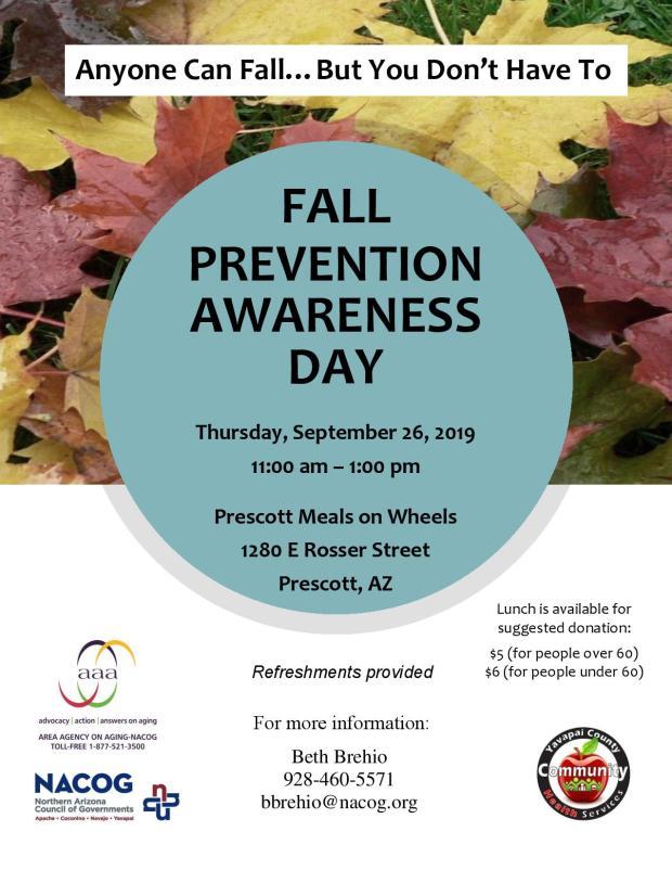 Falls Prevention Sept